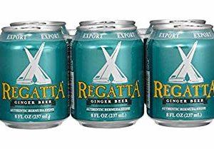 Regatta Ginger Beer 24/8 oz Cans