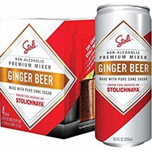 Stoli Ginger Beer 24/12 oz Cans