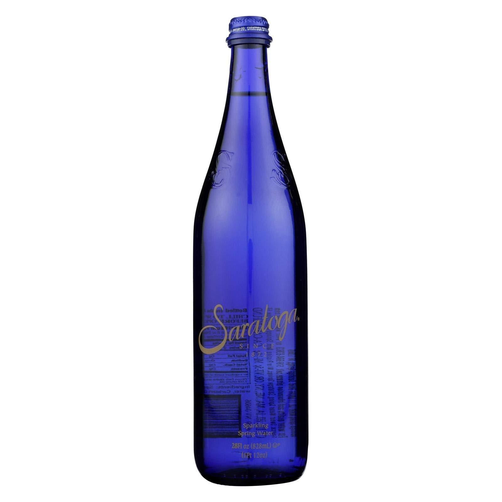 Saratoga Springs Sparkling Water Bottles