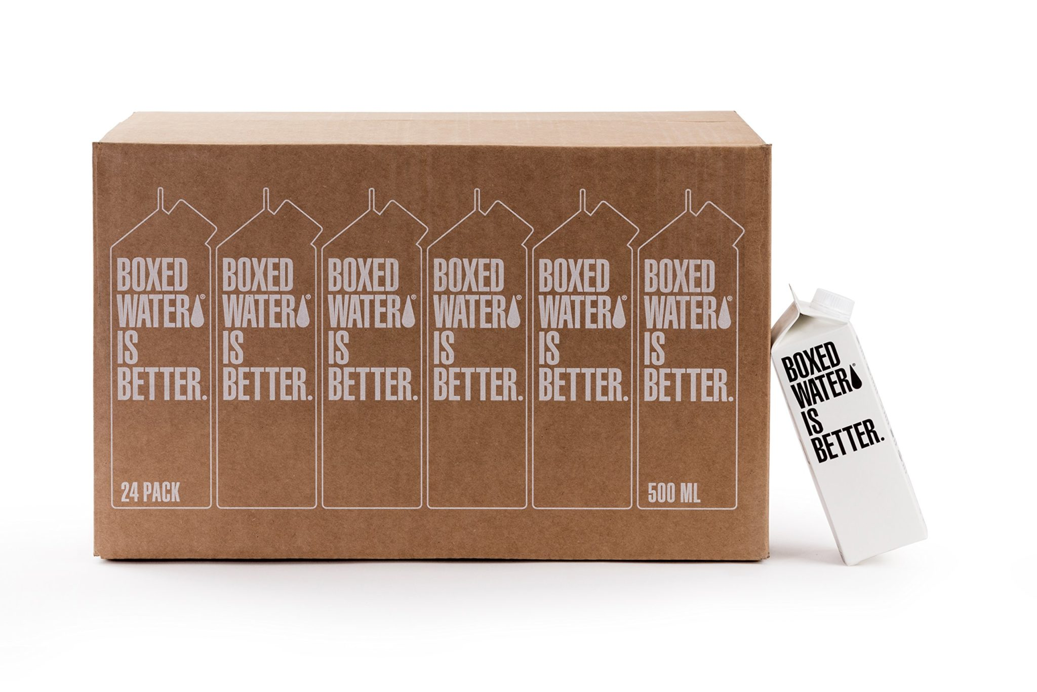 Boxed Water Is Better 24/16oz Cardboard Cartons