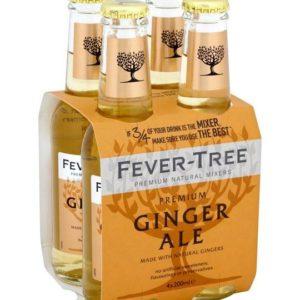 Fever Tree Ginger Ale 24/8Oz