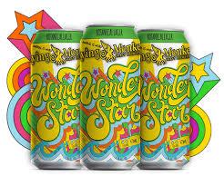 Flying Monkey Wonder Star Lager - 24/16oz cans