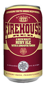 North Country Firehouse Red Cans