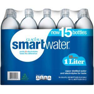 Smart Water Plastic Bottles