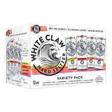 White Claw Variety Cans