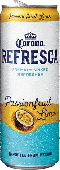 Corona Refresca Passionfruit Lime 24 12oz Cans Beverages2u