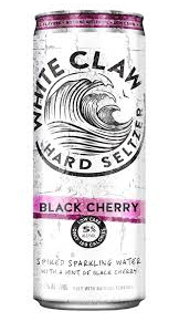 White Claw Black Cherry Cans