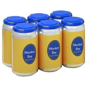 East End Monkey Boy Hefeweizen 12oz cans-6 pack