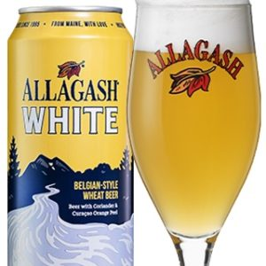 Allagash White Belgian Style Wheat Beer 4pk 16oz cans
